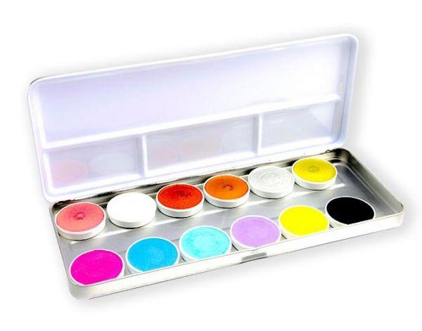 Superstar Schmink palet Shimmer Pastel 12 kleuren