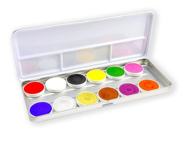 Superstar Schminkpalet met 12 kleuren