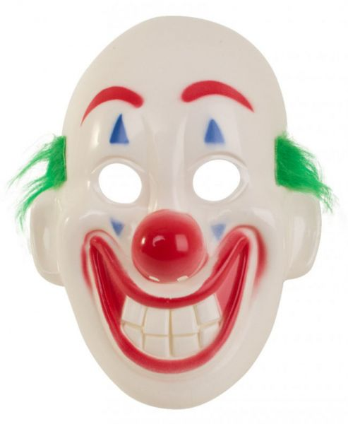 Grappige clown maskers