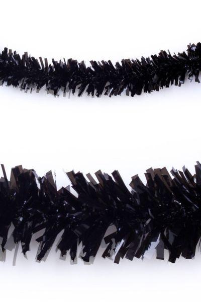 Plastic slinger zwart 10 meter brandveilig