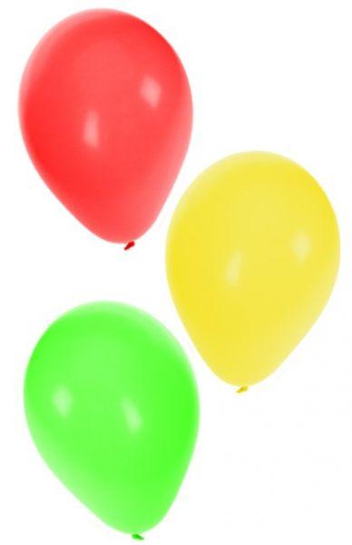 Ballonnen rood geel groen