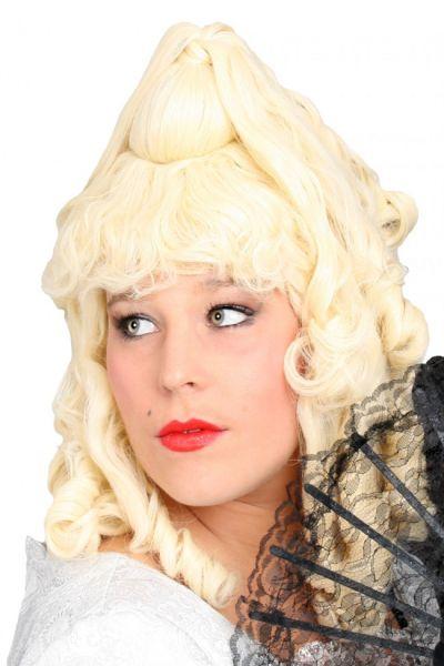 Barok Pruik Gini blond