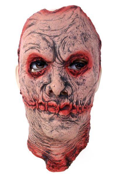Zombie masker gezicht met littekens