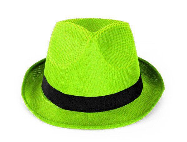 Maffia deukhoedje neon groen