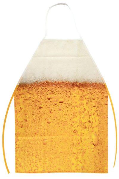 Oktoberfest bierschort schuimkraag