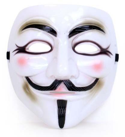 Vendetta masker plastic