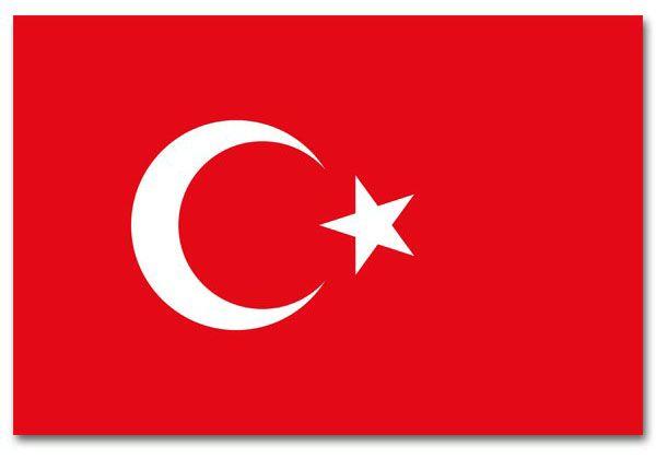 Turkse Vlag Turkije 90x150 cm
