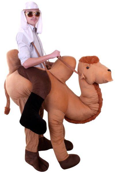 Rijdend op kameel dierenkostuum