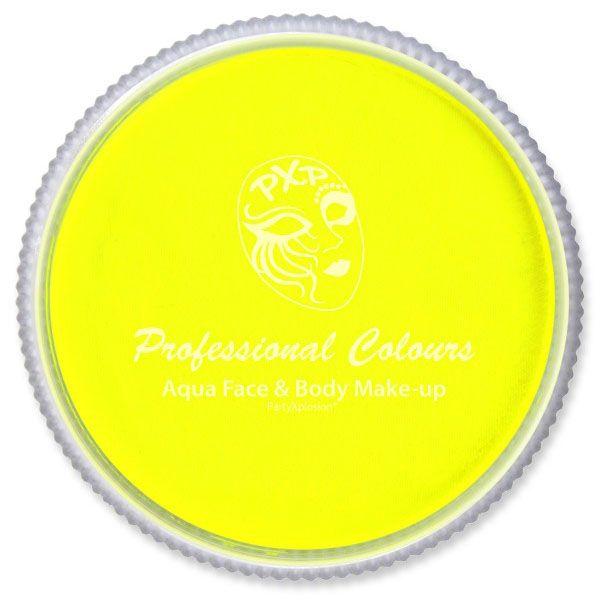 PXP schmink fluor neon geel PartyXplosion