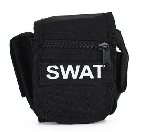 Riemtas zwart SWAT team
