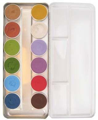 Schminkpalet basic sprookjes 12 kleuren Superstar