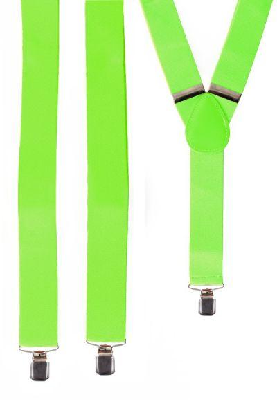 Bretels neon groen fluor