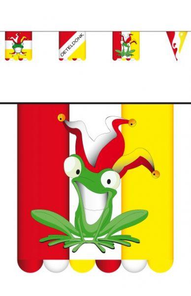 Vlaggenlijn karton Oeteldonk dubbelzijdig