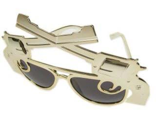 Maffia bril met 2 pistolen