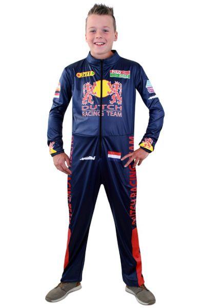 Formule 1 overall kostuum voor kinderen - F1 racecoureur pak