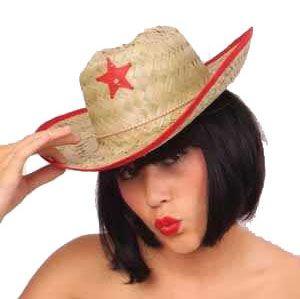 Cowboyhoed stro kind
