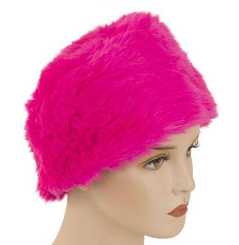 Bontmuts roze pink
