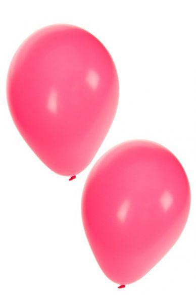 Roze heliumballonnen