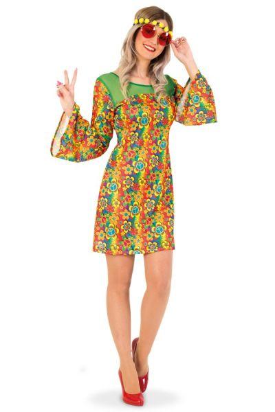 Kleurrijk Hippie-jurk bloemen