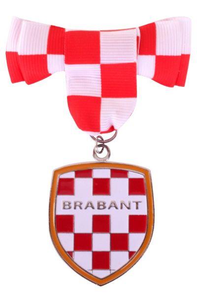 Broche met strikje en wapen van Brabant