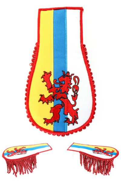 Set schouder epauletten wapen van Limburg