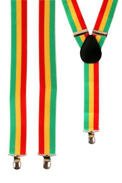 Carnavals bretels rood geel groen