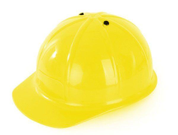 Bauwhelm werkhelm geel verstelbaar