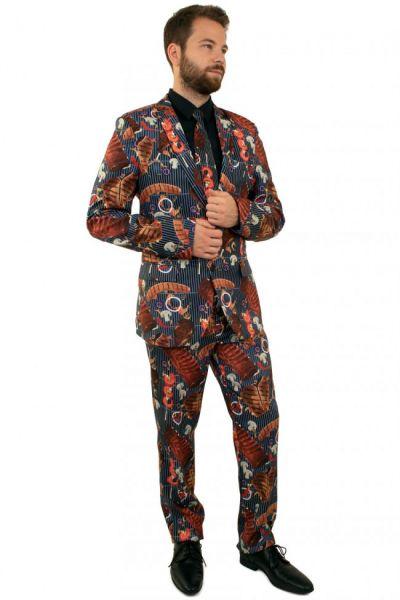 Grappig 3-delig BBQ kostuum