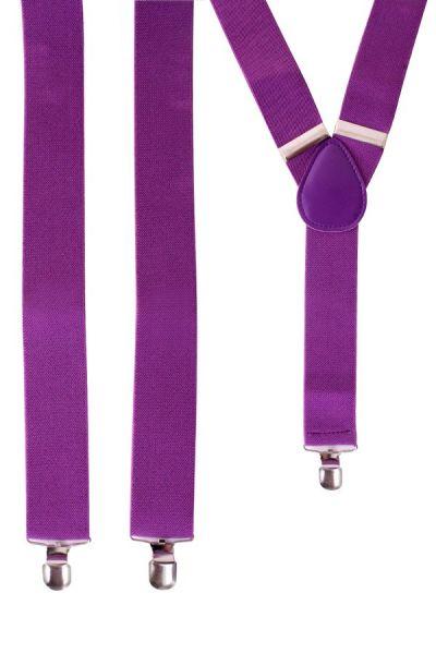 Paarse bretels