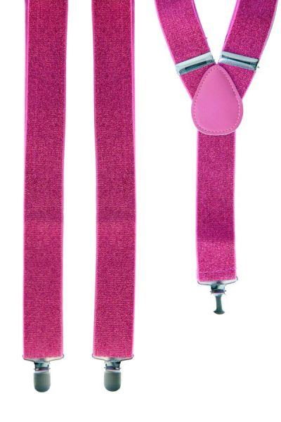 Bretel pink met glitter