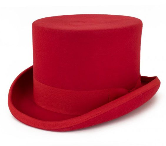 Rode cilinder hoed