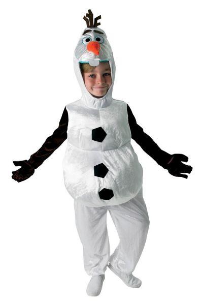 Olaf Frozen Sneeuwpop kinder verkleedkleren