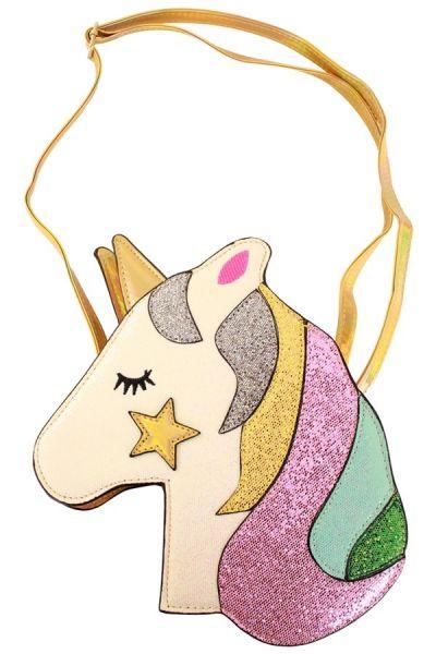 Bag Unicorn with golden star