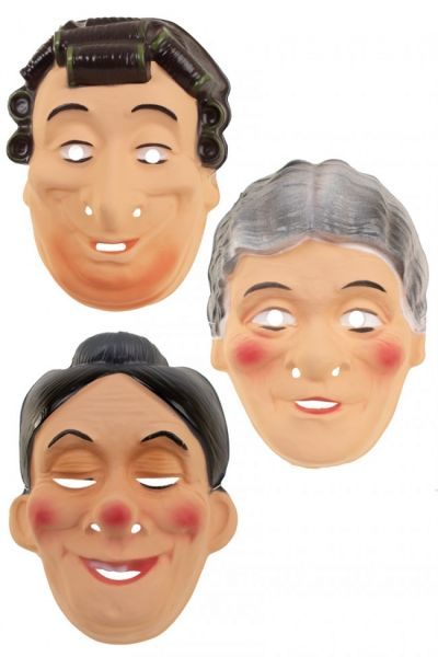 Diverse oma maskers