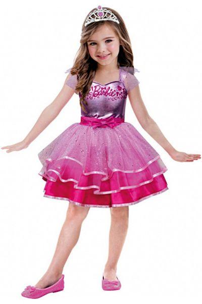 Barbie roze balletjurk meisje