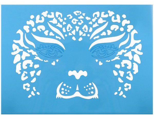 Schmink-sjabloon tijger