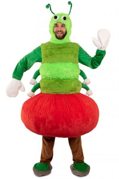 Piggyback Rups uit appel kostuum
