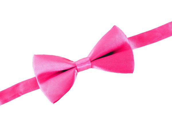 Luxe clownsstrik satijn pretty in pink