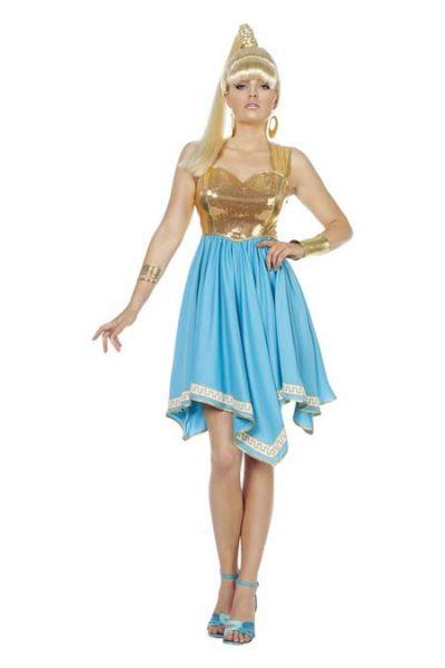 Carnavalsjurk Venus godin van de liefde