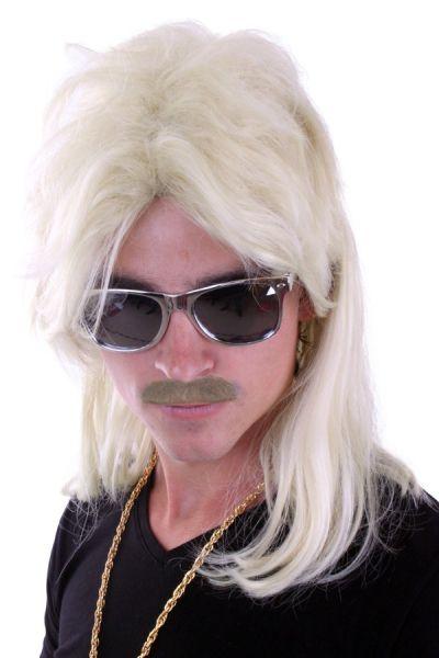 Maaskantje New Kids pruik met matje blond