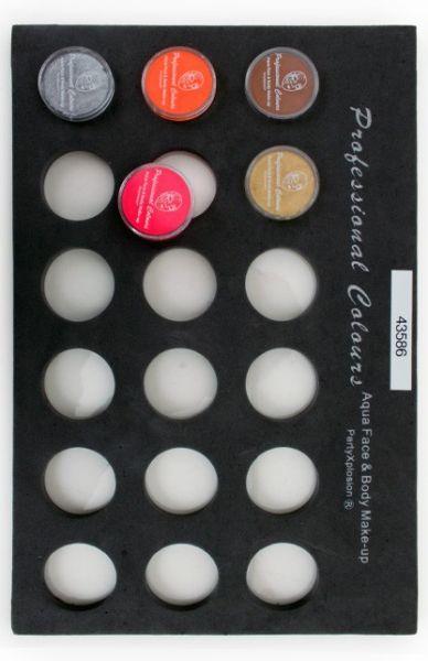 Schminkkoffer Tray voor 10 grams schminkpotjes niet inbegrepen