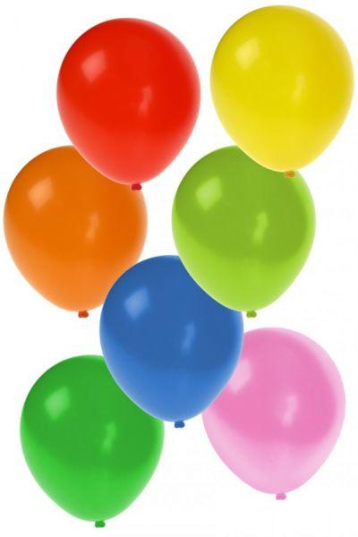 Helium ballonnen 100 stuks assorti kleuren nr 12