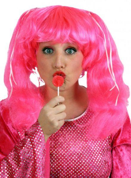pruik Candy pruik pink
