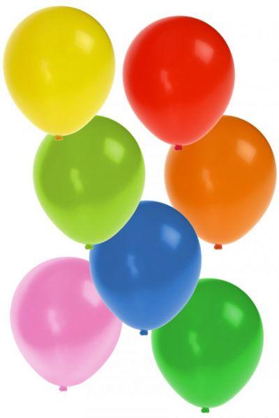 Helium ballonnen 50 stuks assortie kleuren nr 12