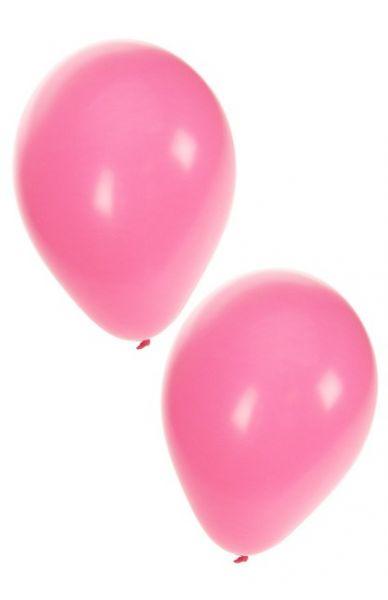 Lichtroze heliumballonnen