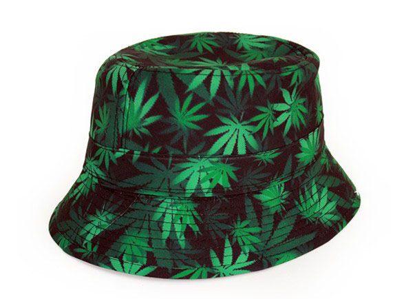 Vissershoed Cannabis Groene Hennep Gras Marihuana vrijgezellenfeest Cap
