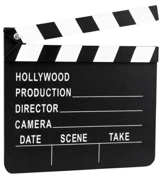 Filmklapper Hollywood