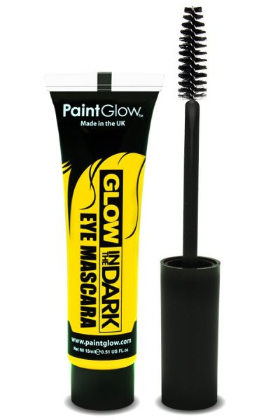 Glow in the dark mascara UV neon geel