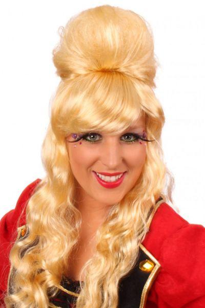 Pruik popster Amy blond