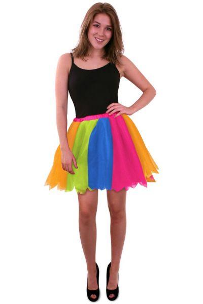 Tulle skirt rainbow